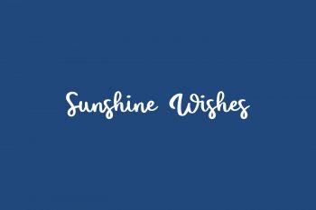 Sunshine Wishes Free Font