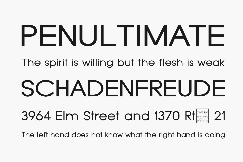 Typo Grotesk Free Font