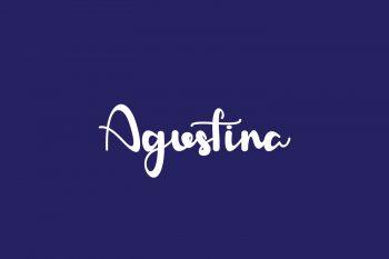 Agustina Free Font