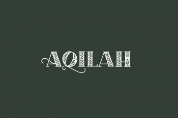 Aqilah Free Font