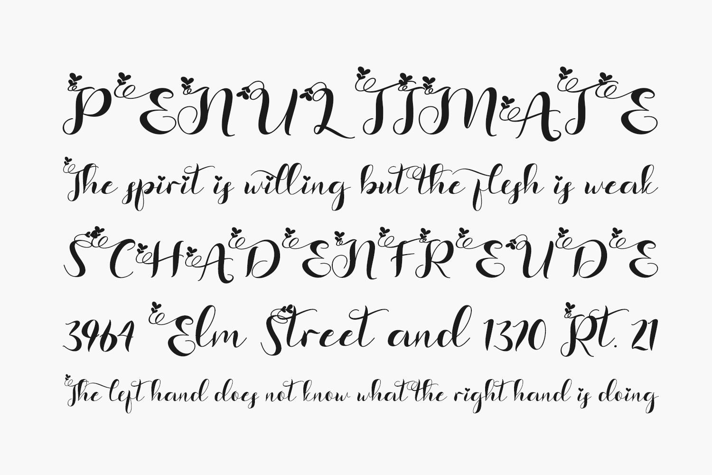 Bethlove Free Font