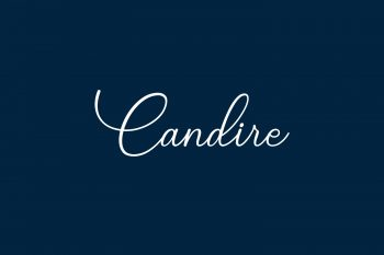 Candire Free Font