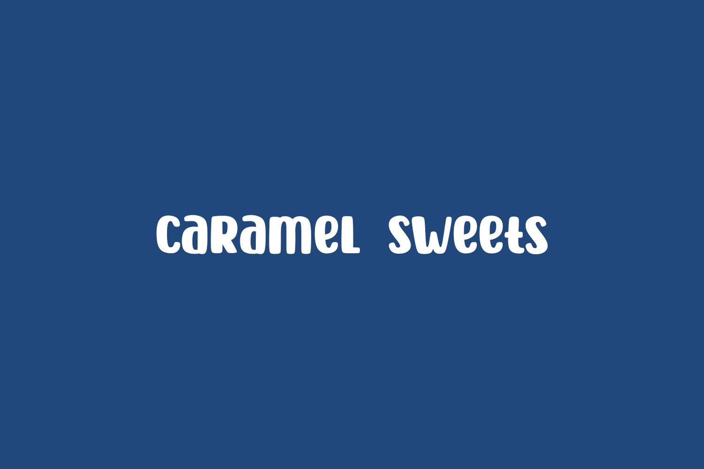 Caramel Sweets Free Font