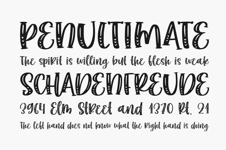 Choco Matcha Free Font