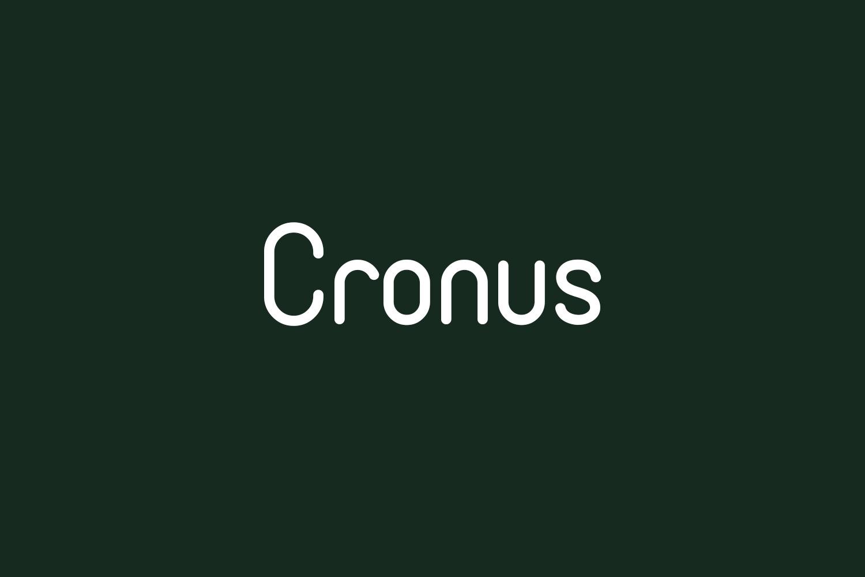 Cronus Free Font