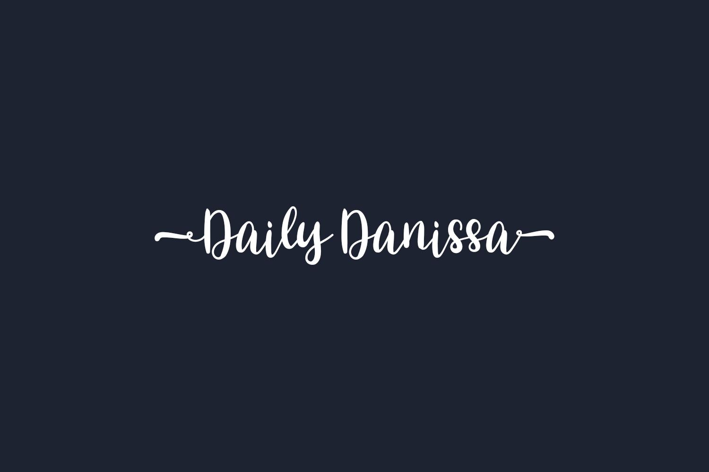 Daily Danissa Free Font