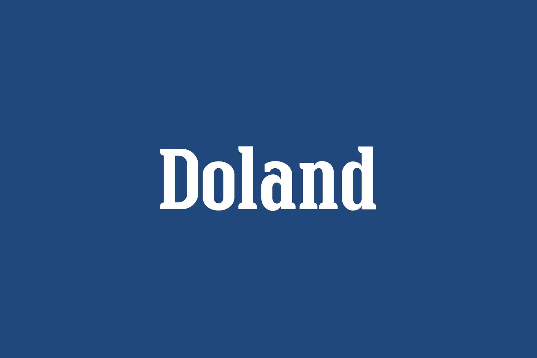 Doland Free Font