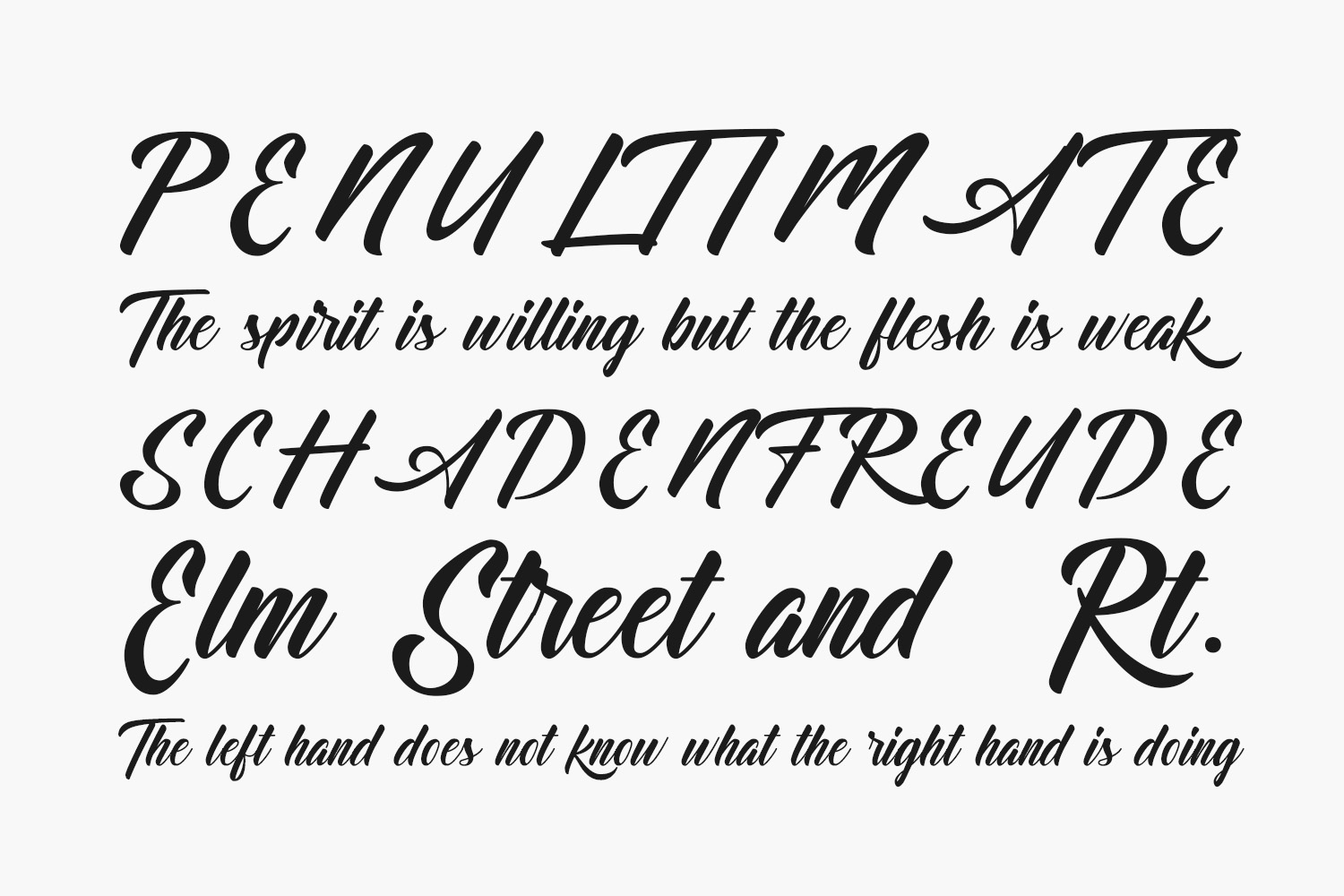 Dominick Free Font