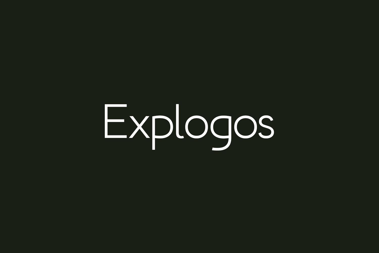 Explogos Free Font