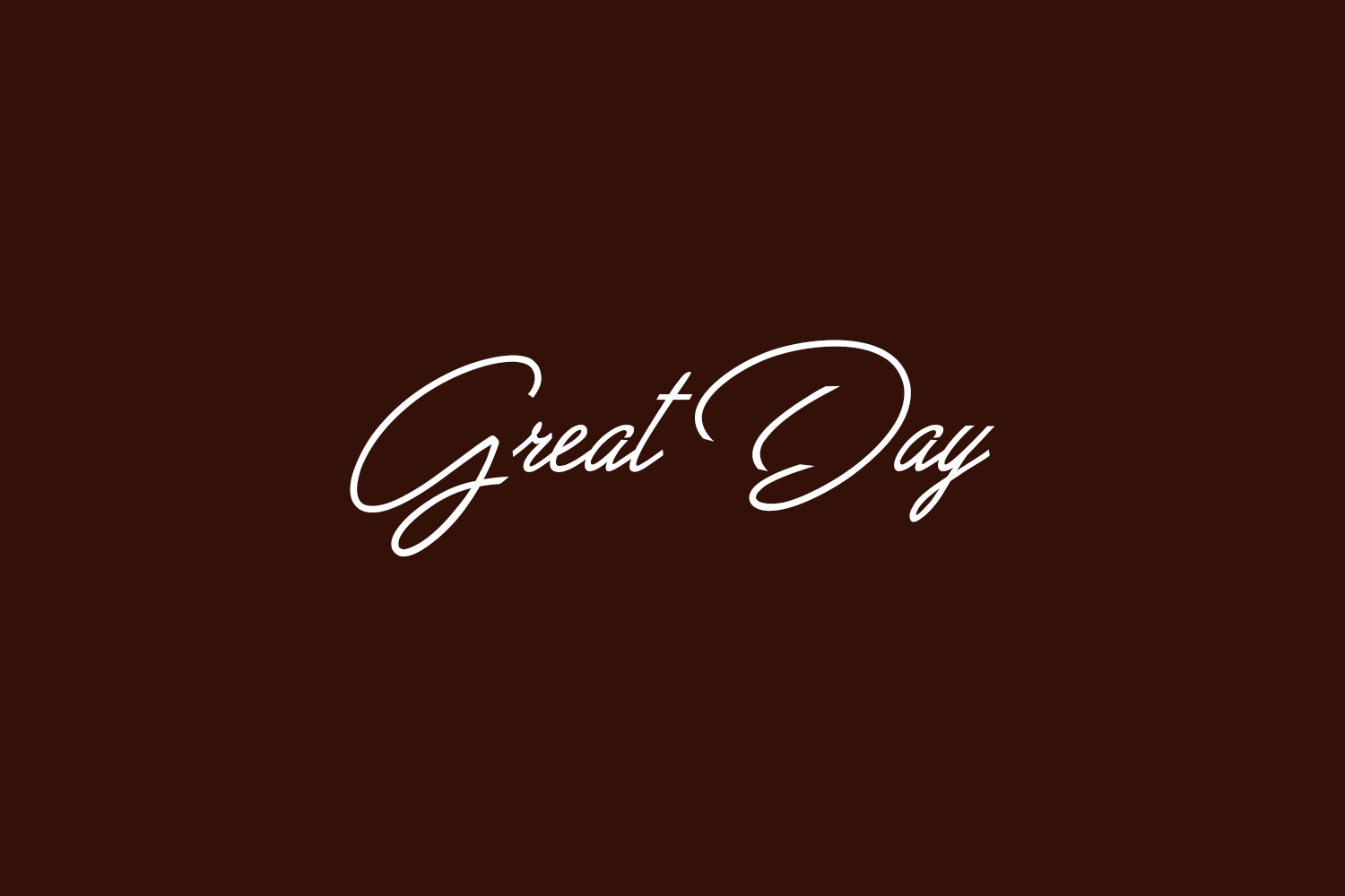 Great Day Free Font