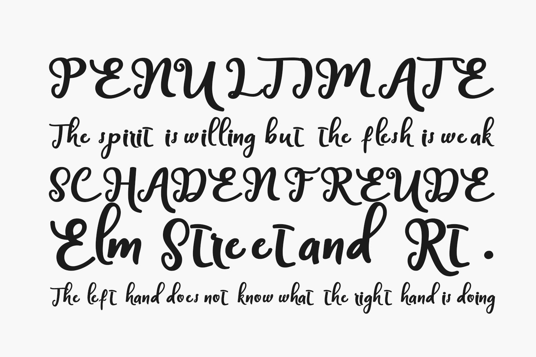 Handley Free Font
