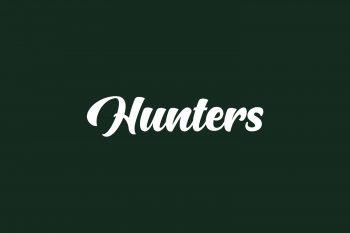 Hunters Free Font