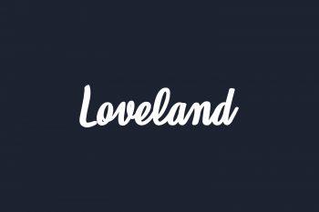 Loveland Free Font
