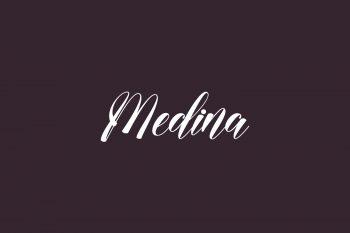 Medina Free Font
