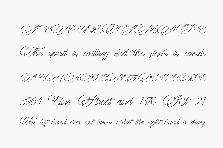 Meryliana Free Font