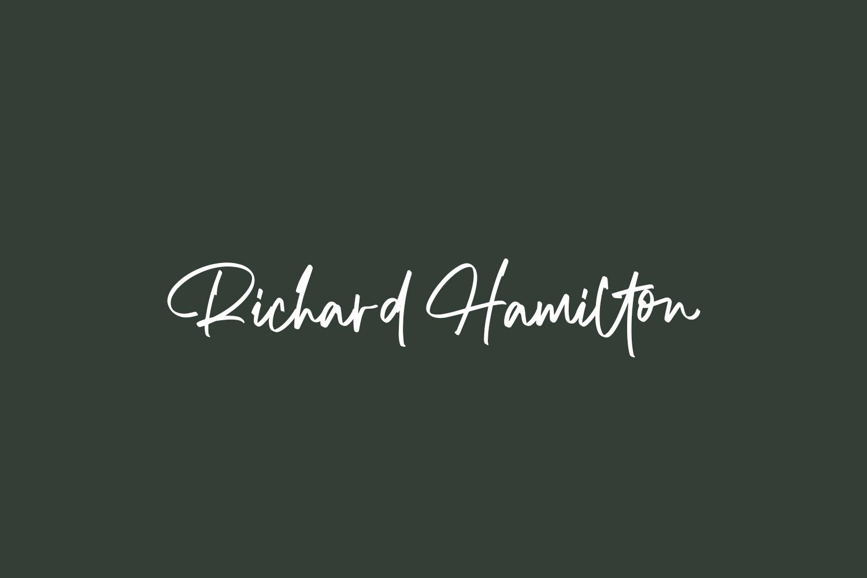 Richard Hamilton Free Font