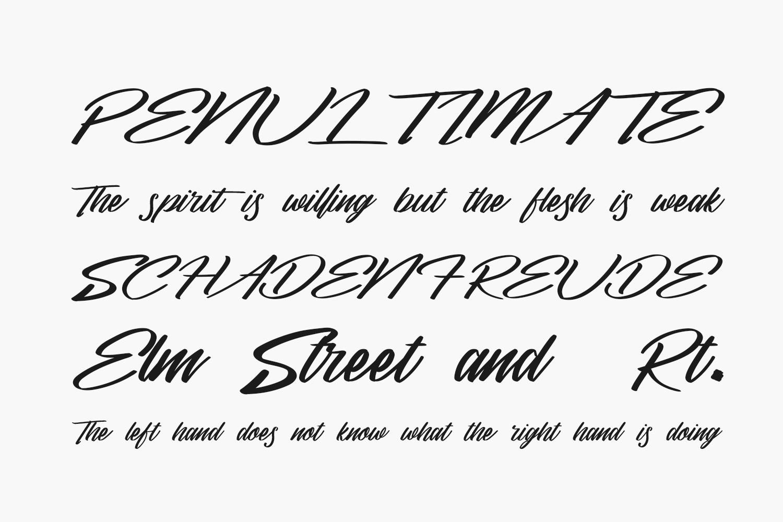 Sandels Free Font