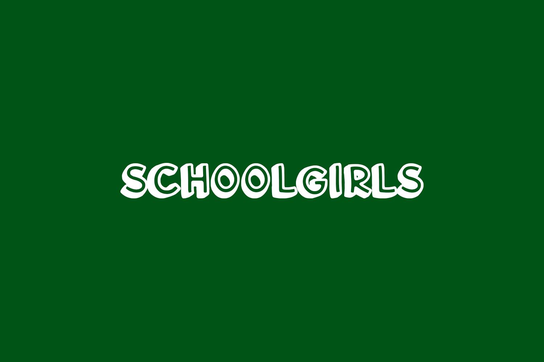 Schoolgirls Free Font