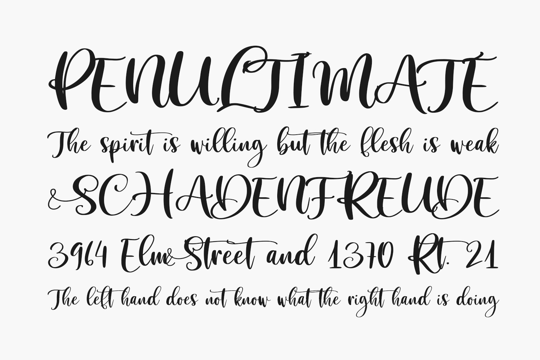 Sibertha Free Font