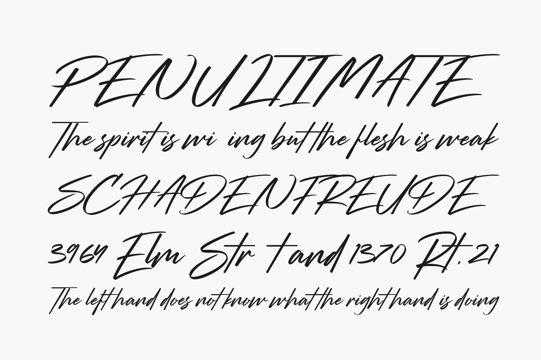 Strude Free Font