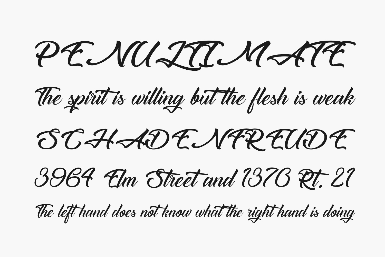 The Blacksmith Free Font