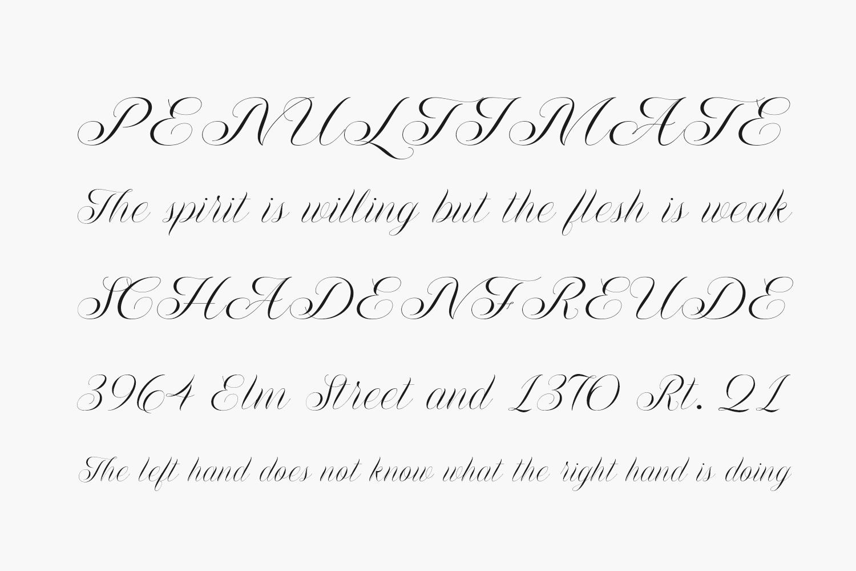 Flourish Free Font