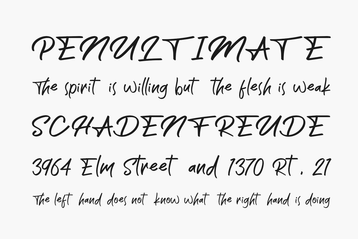 The Wave Free Font