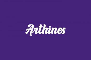 Arthines Free Font