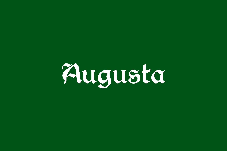 Augusta Free Font