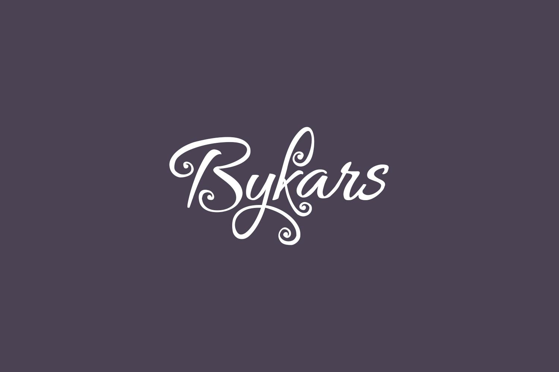 Bykars Free Font