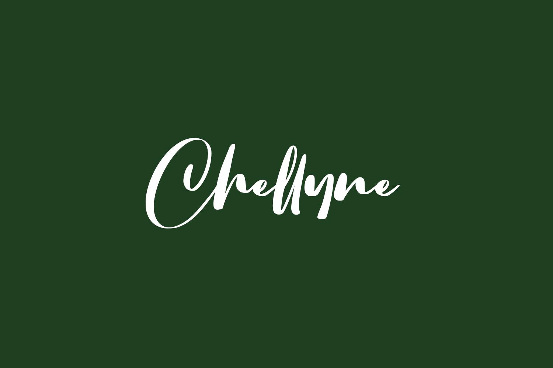 Chellyne Free Font