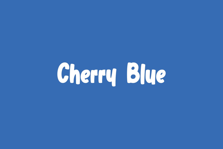Cherry Blue Free Font