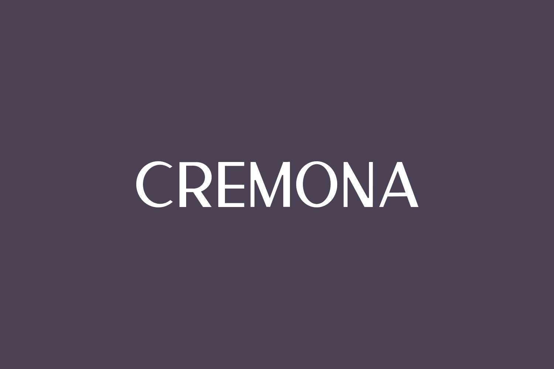 Cremona Free Font