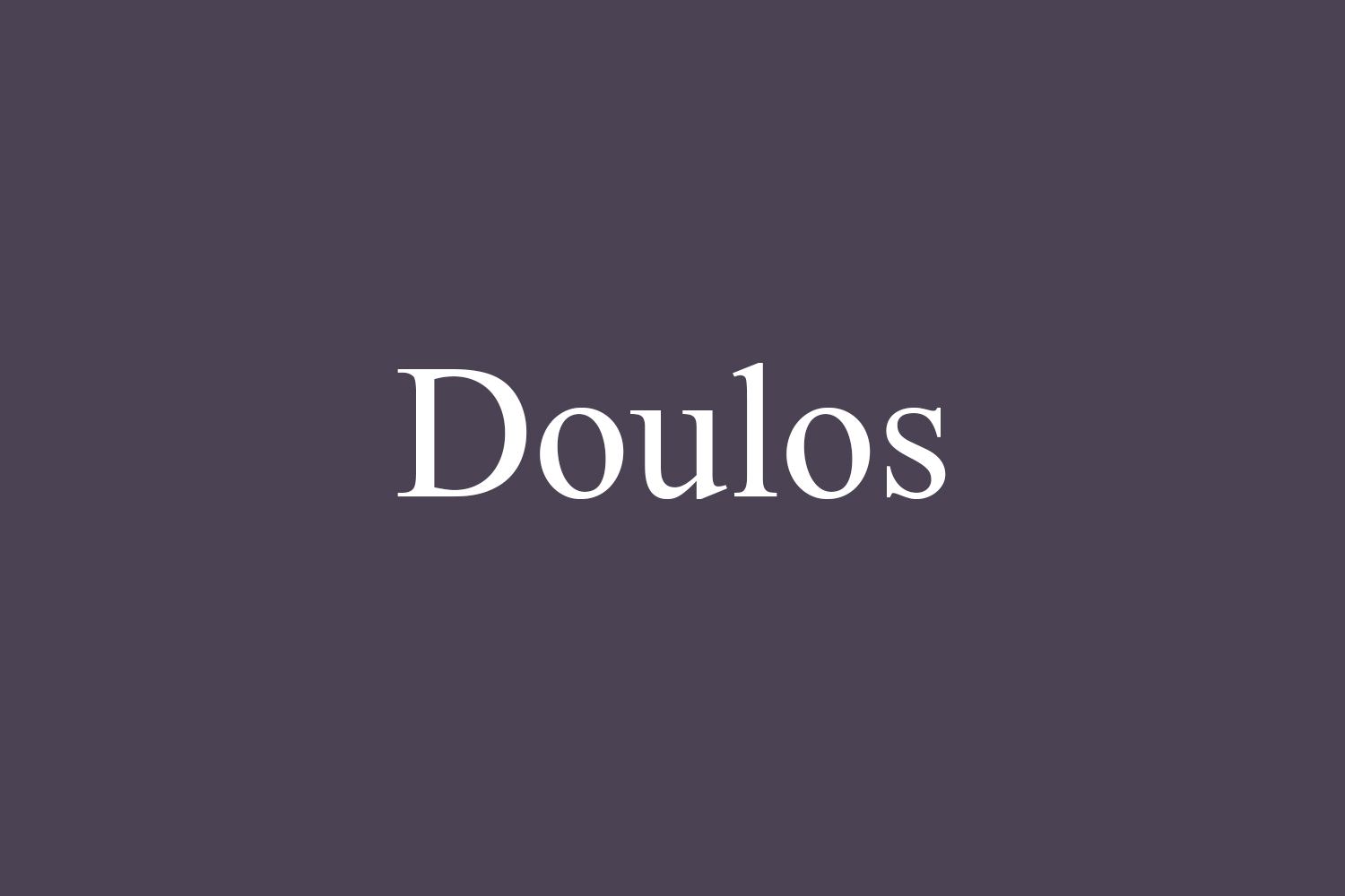 Doulos Free Font