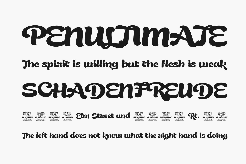 Gready Free Font