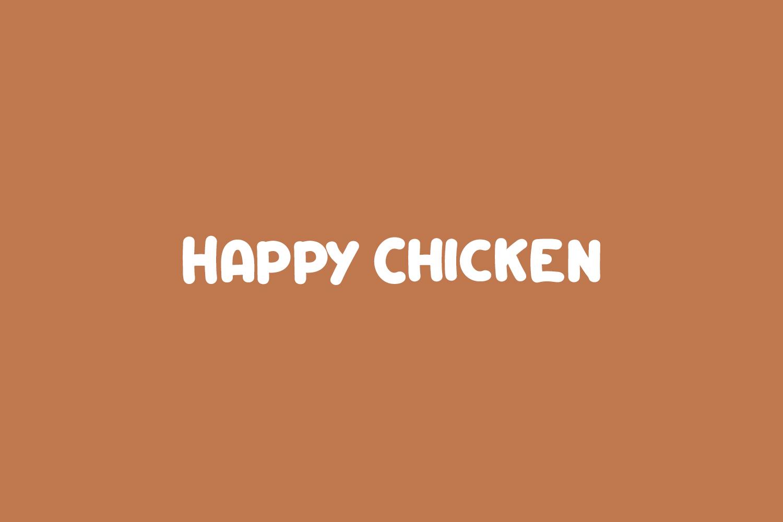 Happy Chicken Free Font