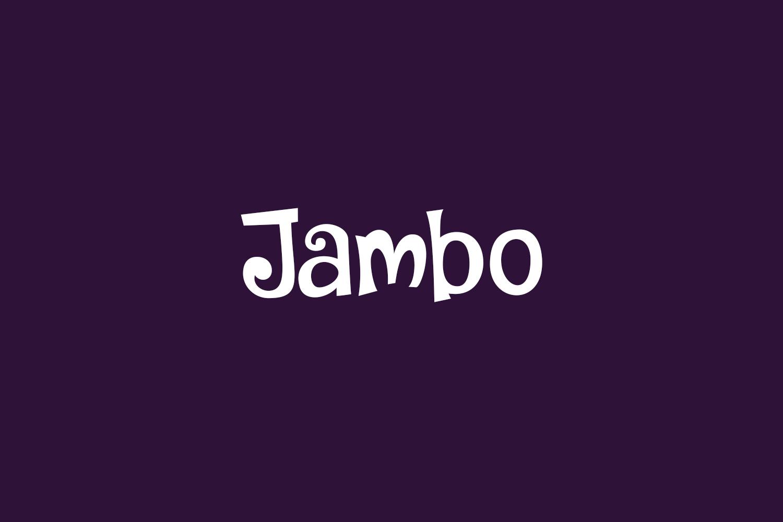 Jambo Free Font
