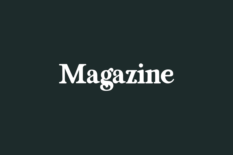 Magazine Free Font