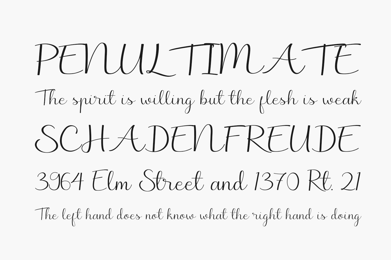 Marchie Free Font