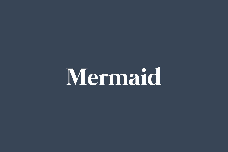 Mermaid Free Font