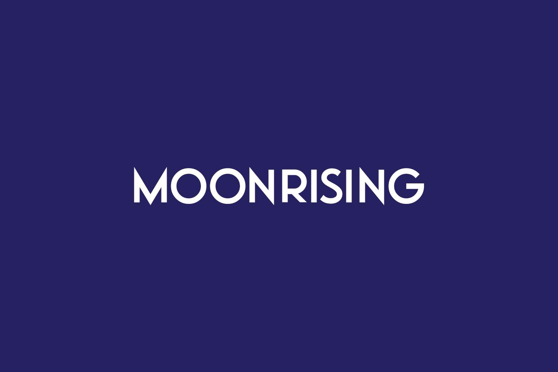 Moonrising Free Font