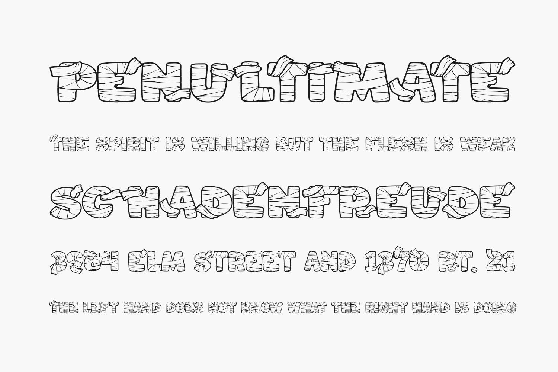 Mummified Free Font