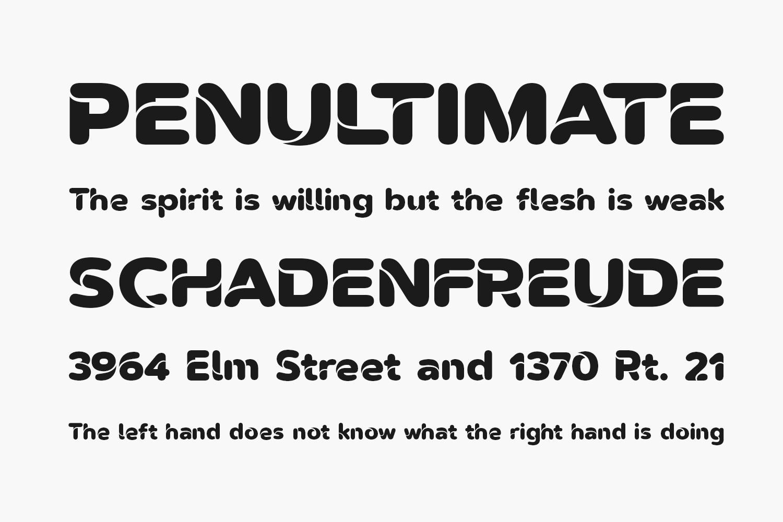 Omegle Free Font