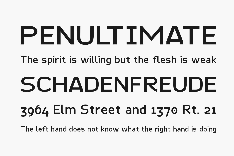 Quinone Free Font