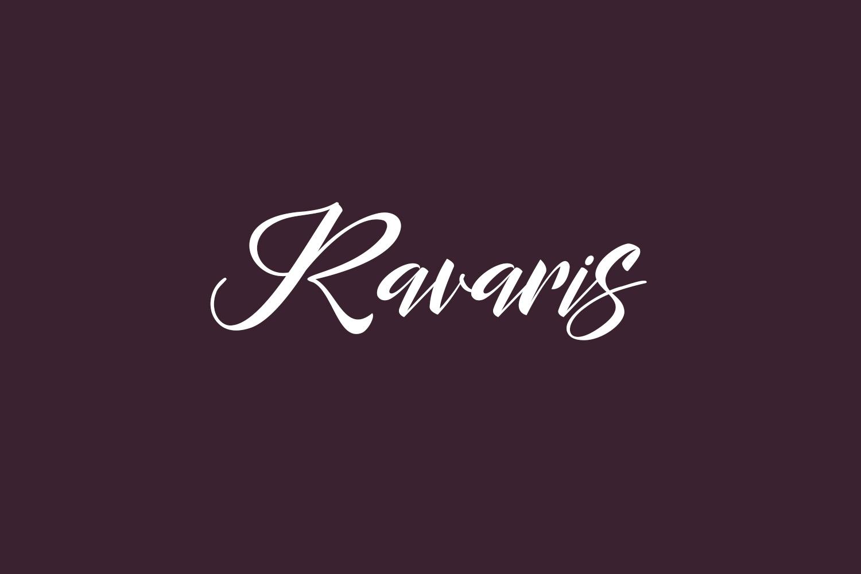 Ravaris Free Font