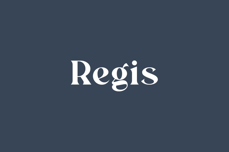 Regis Free Font