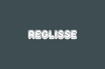 Reglisse Free Font