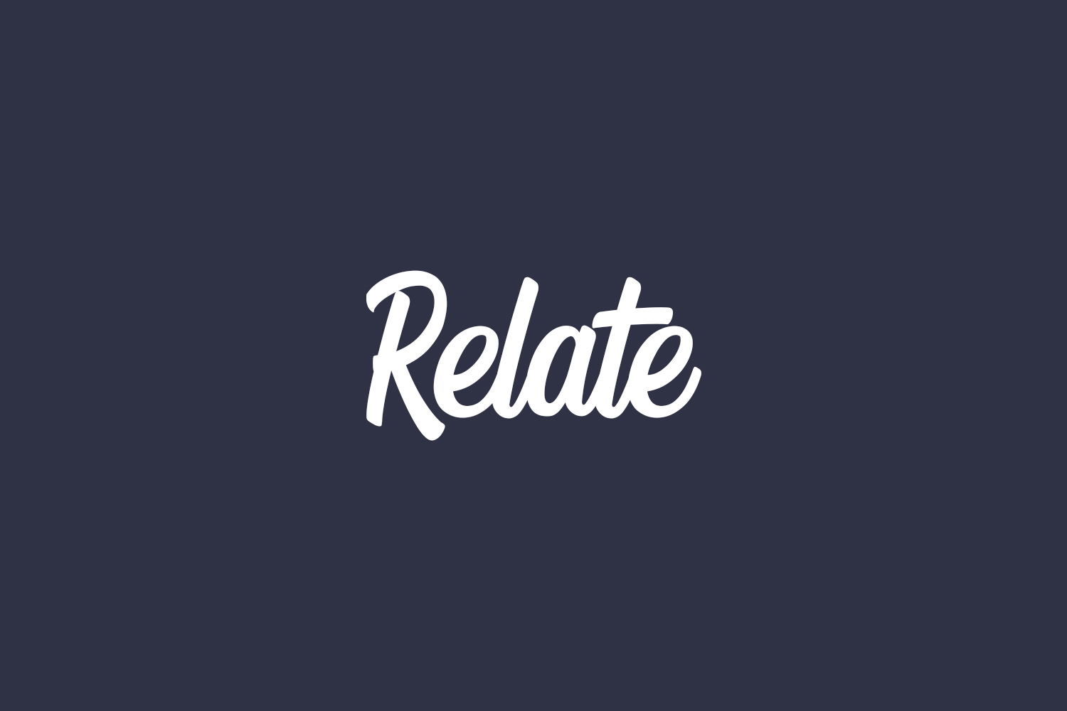 Relate Free Font