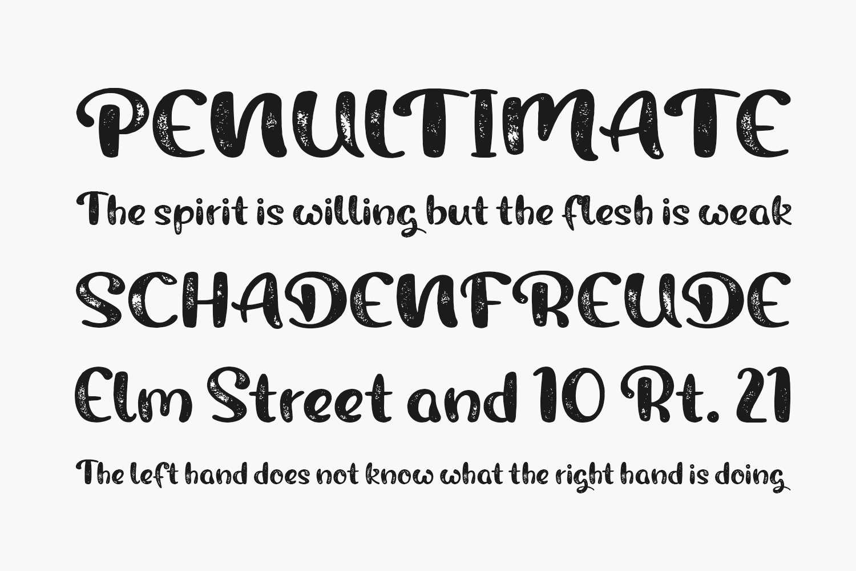 Rough Owl Free Font