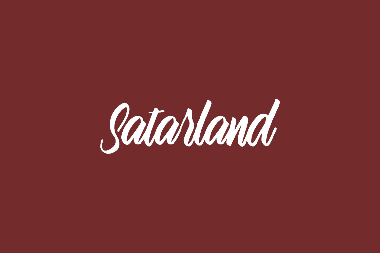 Satarland Free Font